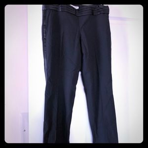 Banana Republic Logan fit tuxedo women's pants